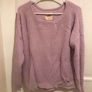 Purple Hollister Sweater